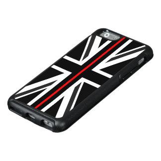 Dünne rote Linie Großbritannien-Flagge OtterBox iPhone 6/6s Hülle