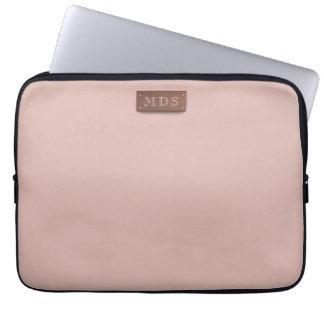 Dünne tausendjährige rosa Laptop-Hülse Laptop Sleeve