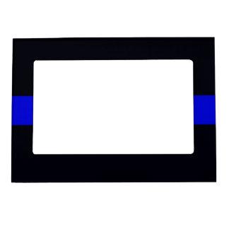 Dünner Blue Line-Bilderrahmen Magnetischer Fotorahmen