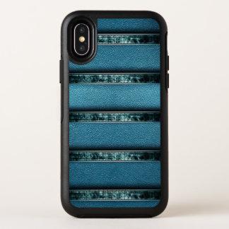 Dünner X Fall des grünen ledernen Entwurfs- OtterBox Symmetry iPhone X Hülle