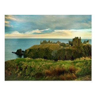 Dunnottar Schloss, Stonehaven, Schottland! Postkarte