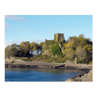 Dunollie Schloss, Schottland Postkarte