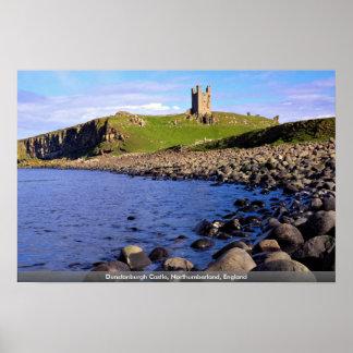 Dunstanburgh Schloss, Northumberland, England Poster