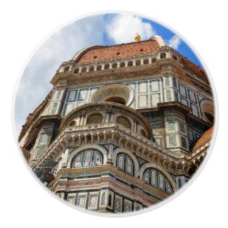 Duomo, in Florenz, Toskana, Italien Keramikknauf