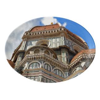 Duomo, in Florenz, Toskana, Italien Porzellan Servierplatte