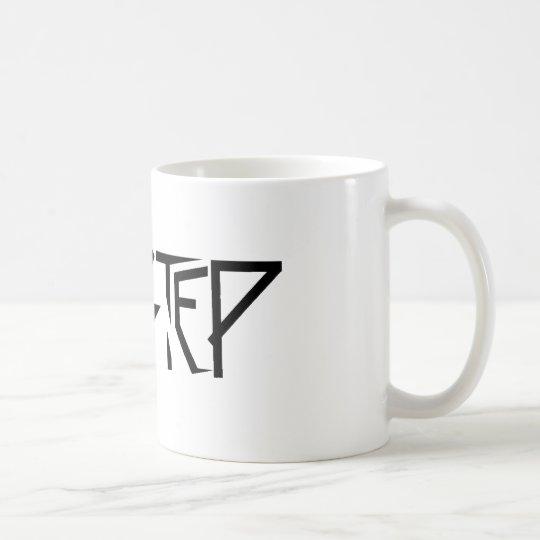Dupstep Schwarzes Kaffeetasse