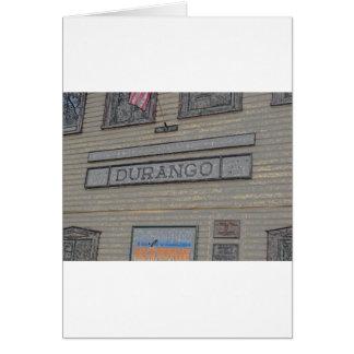 Durango-Bahnstation Karte