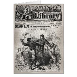 Durango Dave - halbe der Groschen-Bibliothek 1904 Karte
