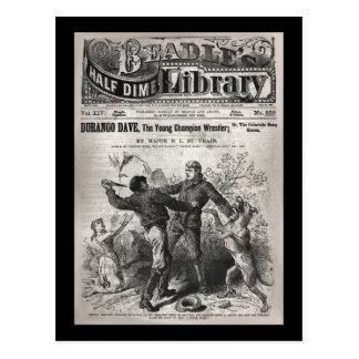 Durango Dave - halbe der Groschen-Bibliothek 1904 Postkarte
