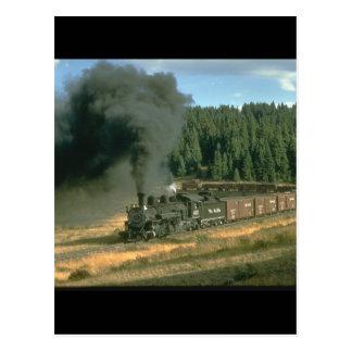 Durango- u. Silvertonnein Züge 480_Steam Postkarte