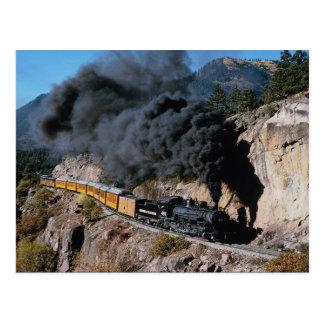 Durango und Silverton Eisenbahn, Nr. 481, BärCree Postkarte