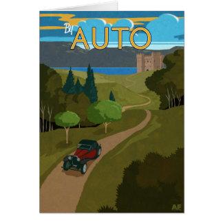 Durch Auto Karte