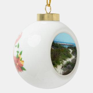 Durch das Meer Keramik Kugel-Ornament