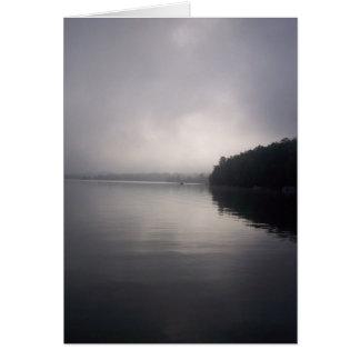Durch den früher Morgen-Nebel Karte