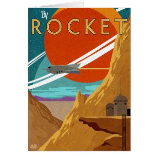 Durch Rocket Karte