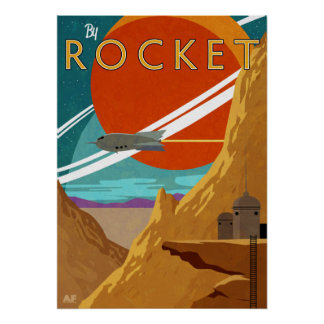 Durch Rocket Poster