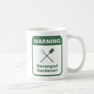 Durcheinandergebrachter Gärtner - Kaffeetasse