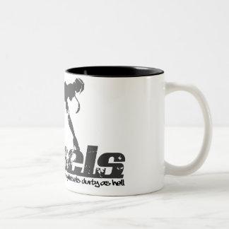 Durty Dieseldame Mug Zweifarbige Tasse