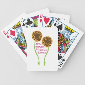 Duschen holen Blumen Poker Karten