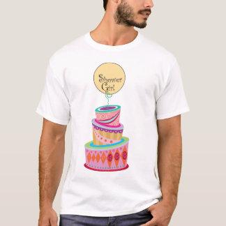 Duschen-Schablone T-Shirt