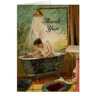 Duschen Sie die Braut danken Ihnen Karte