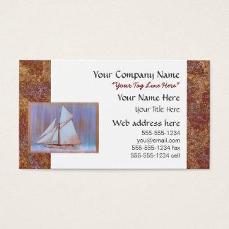 Düstere Segel kundenspezifisch Visitenkarte