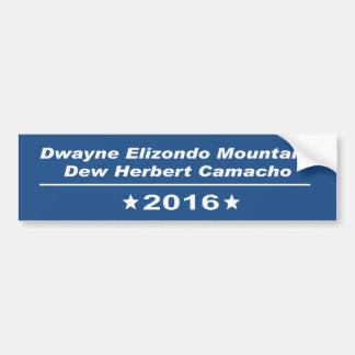 Dwayne Elizondo Gebirgstau Herbert Camacho Autoaufkleber