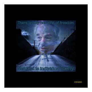 DWMND Ron Paul Freiheitszitat Poster