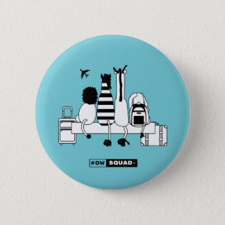 """#DWsquad Logo, 5,7 cm (2,25"""") rundes Abzeichen Runder Button 5,7 Cm"""