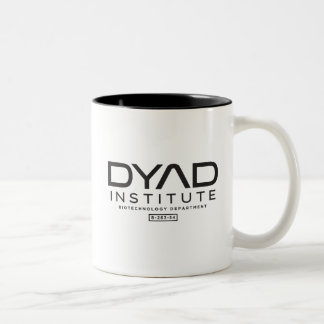 Dyade-Institut - Waisenschwarzes Zweifarbige Tasse