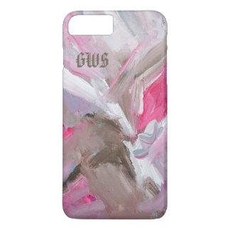 Dynamik Rosen-im Painterly abstrakten iPhone 7 Plus Hülle