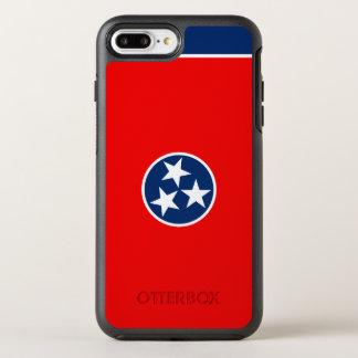 Dynamische Tennessee-Staats-Flaggen-Grafik auf a OtterBox Symmetry iPhone 8 Plus/7 Plus Hülle