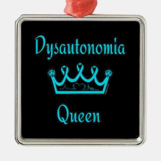 Dysautonomia Königin Silbernes Ornament