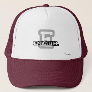 E ist für Emanuel Truckerkappe