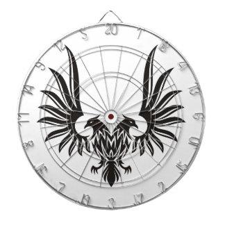 Eagle avec deux têtes jeux de fléchettes