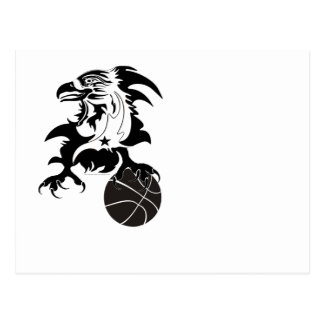 Eagle-Basketball-1-logo-1 Postkarte