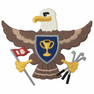 Eagle-Golf Besticktes Polohemd