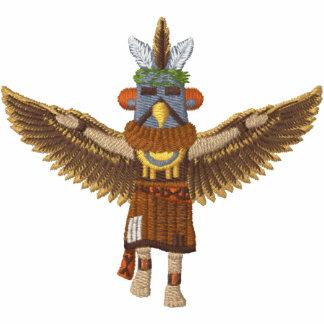 Eagle Kachina - fertigen Sie besonders an Besticktes Hoodie