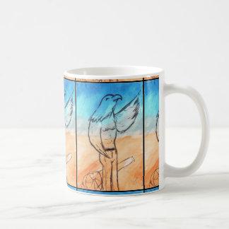 Eagle-Krieger Kaffeetasse