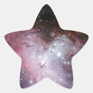 Eagle-Nebelfleck Stern-Aufkleber