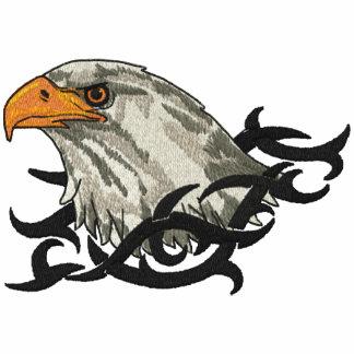 Eagle-Porträt Besticktes Poloshirt