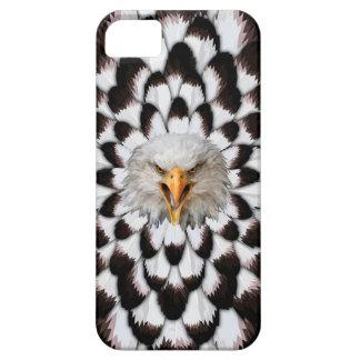 Eagle und Feder Muster-Telefon-Kasten iPhone 5 Etui