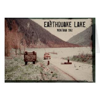 Earthquake See-Montanagruß-Karte 1961 Karte
