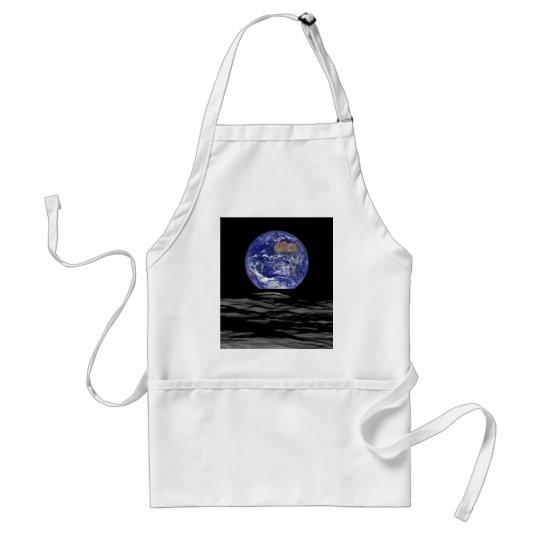 Earthrise vom Farside des Mondes Schürze