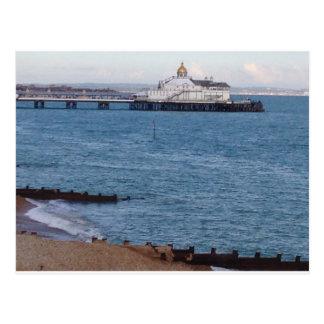 Eastbourne-Pier Postkarte