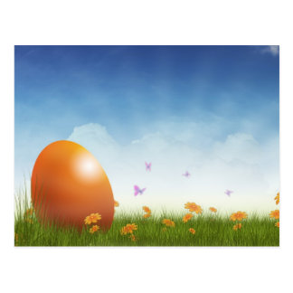 EASTER GREETINGS CARD POSTKARTE