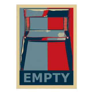 Eastwooding die politische Satire Stuhllustige Poster