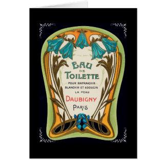 Eau de Toilette Doubigny Paris Karte