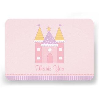 Ebene danken Ihnen Prinzessin Castle der Individuelle Einladungen