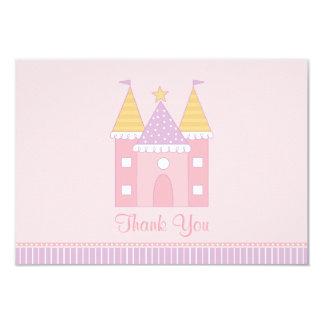 Ebene danken Ihnen Prinzessin Castle der 8,9 X 12,7 Cm Einladungskarte